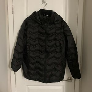 Time and Tru 1X Black Puffer Jacket